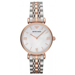Buy Women's Emporio Armani Watch Gianni T-Bar AR1683 Mother of Pearl
