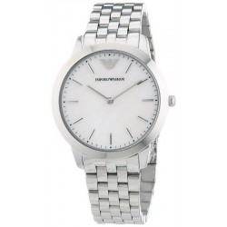 Buy Women's Emporio Armani Watch Dino AR1750 Mother of Pearl