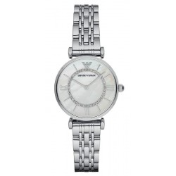 Buy Women's Emporio Armani Watch Gianni T-Bar AR1908 Mother of Pearl