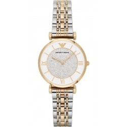 Buy Women's Emporio Armani Watch Gianni T-Bar AR2076