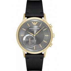 Buy Men's Emporio Armani Connected Watch Renato ART3006 Hybrid Smartwatch