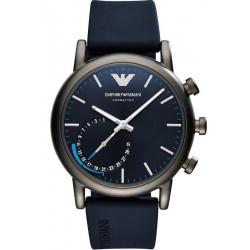 Buy Men's Emporio Armani Connected Watch Luigi ART3009 Hybrid Smartwatch