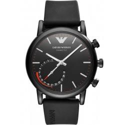 Buy Men's Emporio Armani Connected Watch Luigi ART3010 Hybrid Smartwatch