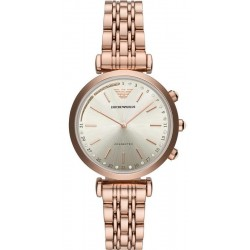 Women's Emporio Armani Connected Watch Gianni T-Bar ART3026 Hybrid Smartwatch