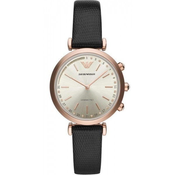 Buy Women's Emporio Armani Connected Watch Gianni T-Bar ART3027 Hybrid Smartwatch