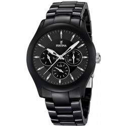 Buy Men's Festina Watch Ceramic F16639/2 Quartz Multifunction