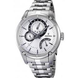 Men's Festina Watch Elegance F16669/1 Multifunction Quartz