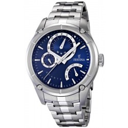 Men's Festina Watch Elegance F16669/2 Quartz Multifunction