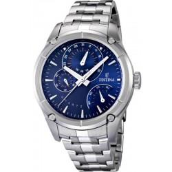 Men's Festina Watch Elegance F16669/4 Quartz Multifunction