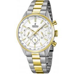 Men's Festina Watch Chronograph F16821/1 Quartz