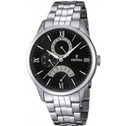 Men's Festina Watch Retro F16822/2 Quartz Multifunction