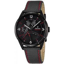 Men's Festina Watch Retro F16849/2 Quartz Multifunction