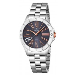 Women's Festina Watch Boyfriend F16925/2 Quartz