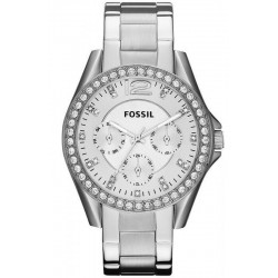 Buy Women's Fossil Watch Riley ES3202 Quartz Multifunction