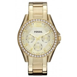 Buy Women's Fossil Watch Riley ES3203 Quartz Multifunction