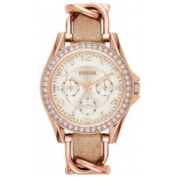 Buy Women's Fossil Watch Riley ES3466 Quartz Multifunction