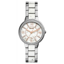 Women's Fossil Watch Virginia ES3962 Mother of Pearl Quartz