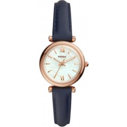 Buy Women's Fossil Watch Carlie Mini ES4502 Mother of Pearl Quartz