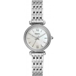 Buy Women's Fossil Watch Carlie Mini ES4647 Mother of Pearl Quartz