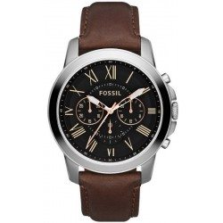 Men's Fossil Watch Grant FS4813 Chronograph Quartz