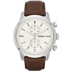Men's Fossil Watch Townsman FS4865 Quartz Chronograph