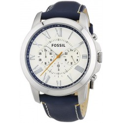 Men's Fossil Watch Grant FS4925 Quartz Chronograph