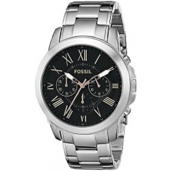 Men's Fossil Watch Grant FS4994 Quartz Chronograph