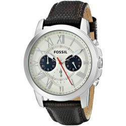 Men's Fossil Watch Grant FS5021 Quartz Chronograph