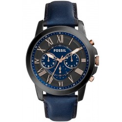 Men's Fossil Watch Grant FS5061 Chronograph Quartz