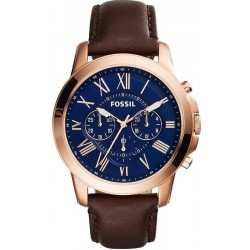 Men's Fossil Watch Grant FS5068 Quartz Chronograph