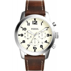 Men's Fossil Watch Pilot 54 FS5146 Quartz Chronograph