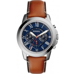 Men's Fossil Watch Grant FS5210 Quartz Chronograph
