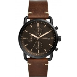 Buy Men's Fossil Watch Commuter FS5403 Quartz Chronograph