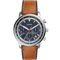 Men's Fossil Watch Goodwin Chrono FS5414 Quartz