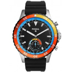 Fossil Q Crewmaster Hybrid Smartwatch Men's Watch FTW1124