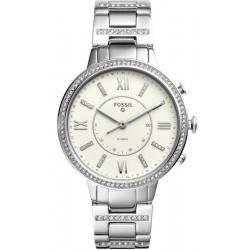 Buy Women's Fossil Q Watch Virginia FTW5009 Hybrid Smartwatch