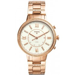 Buy Women's Fossil Q Watch Virginia FTW5010 Hybrid Smartwatch
