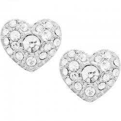 Women's Fossil Earrings Vintage Motifs JF01150040 Heart