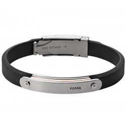 Buy Men's Fossil Bracelet Mens Dress JF01650998