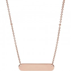 Women's Fossil Necklace Vintage Iconic JF02901791