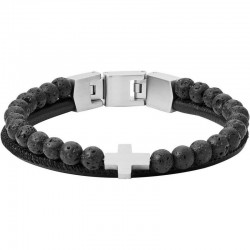 Buy Men's Fossil Bracelet Mens Dress JF03120040