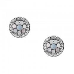 Women's Fossil Earrings Vintage Glitz JF03222040 Mother of Pearl