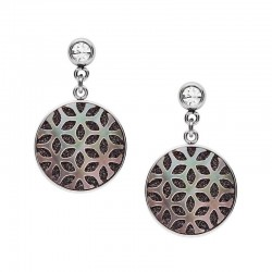 Buy Women's Fossil Earrings Classics JF03267040 Mother of Pearl