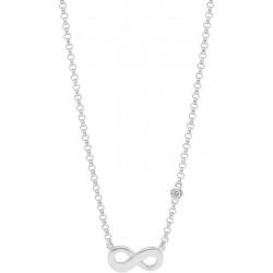 Buy Women's Fossil Necklace Sterling Silver JFS00394040