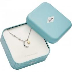 Buy Women's Fossil Necklace Sterling Silver JFS00432998