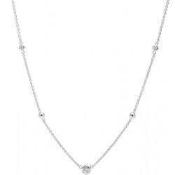 Buy Women's Fossil Necklace Sterling Silver JFS00453040