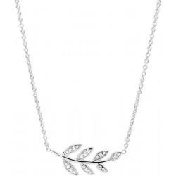 Buy Women's Fossil Necklace Sterling Silver JFS00485040