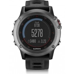 Men's Garmin Watch Fēnix 3 010-01338-01 GPS Multisport Smartwatch