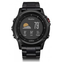 Buy Men's Garmin Watch Fēnix 3 HR Sapphire 010-01338-7D GPS Multisport Smartwatch