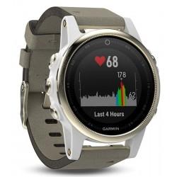 Unisex Garmin Watch Fēnix 5S Sapphire 010-01685-13 GPS Multisport Smartwatch